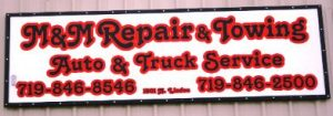 M+M repair + towing