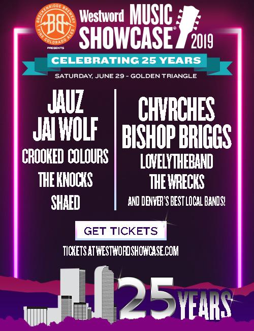 Westword Music Showcase ~ June 29, 2019